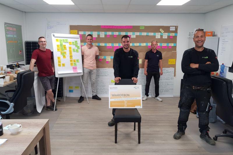 Van een eenmanszaak naar 13 medewerkers: zo doet Easydura het