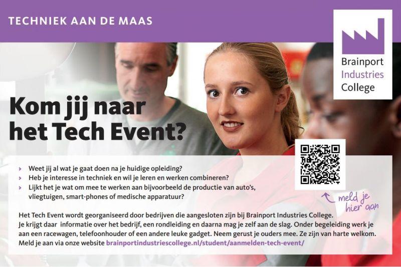 Bedrijven organiseren samen event om jongeren te interesseren voor techniek